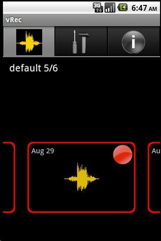 vRec voice recorder