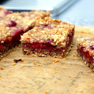 Raspberry Crumb Breakfast Bars