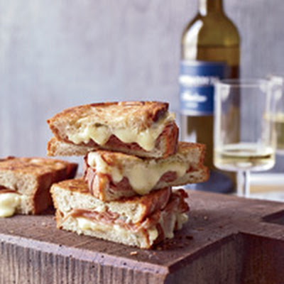 Mortadella and Cheese Panini