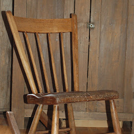 by Emilie Walson - Artistic Objects Furniture ( shaker, rocker, wood, small, antique, Chair, Chairs, Sitting )