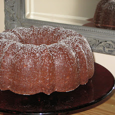 The Bag Lady's Favorite Chocolate Pound Cake ( Paula Deen )