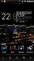Screenshot of City Nights GO Launcher Theme