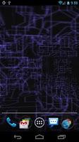 Screenshot of Tech Paper 3D Live Wallpaper