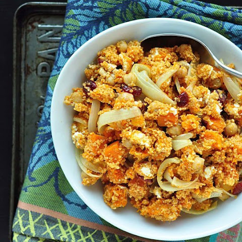 Couscous Salad with Butternut Squash and Cranberries
