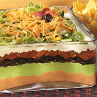 7 Layer Salad With Ranch Dressing Recipes
