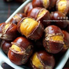 Sugar Coated Roasted Chestnuts