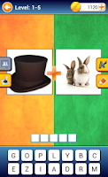 Screenshot of Pics 1+1 (Guess the Word)
