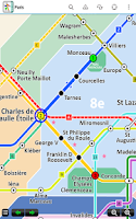 Screenshot of Paris Metro by Zuti