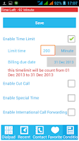 Screenshot of Custom Call
