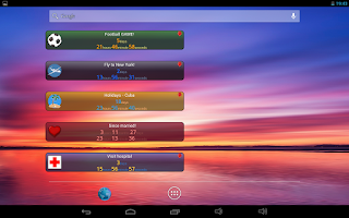 Screenshot of Countdown Chronometer & Widget