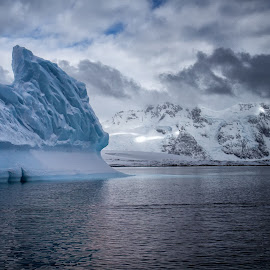 Antarctic View by Dick Eigenraam - Landscapes Waterscapes