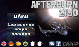 Screenshot of Afterburn: 3D space shooter