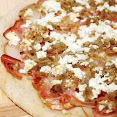 Pear, Prosciutto, and Goat Cheese Pizza