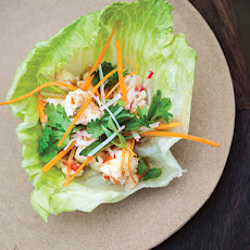 Grilled Shrimp Lettuce Cups