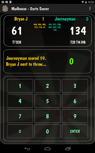 Madhouse - Darts Scorer/Caller - screenshot