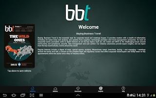 Screenshot of Buying Business Travel