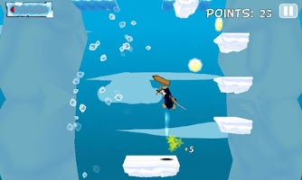 Screenshot of Icy Joe Extreme Jump