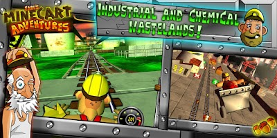 Screenshot of MineCart Adventures: Demo