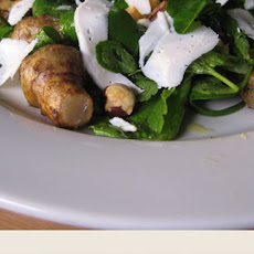 Roasted Artichoke, Hazelnut And Goat's Cheese Salad Recipe