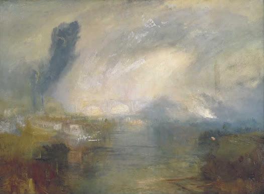 Turner Joseph, Il Tamigi nei pressi del ponte di Waterloo