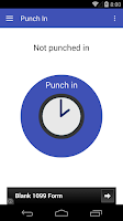 Screenshot of Punch In: Work Clock