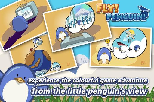 Fly!Penguin! - screenshot