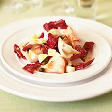 Chopped Endive Salad with Smoked Salmon