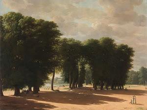 RIJKS: Pieter Rudolph Kleijn: The Entrance to the Park of Saint-Cloud, Paris 1809
