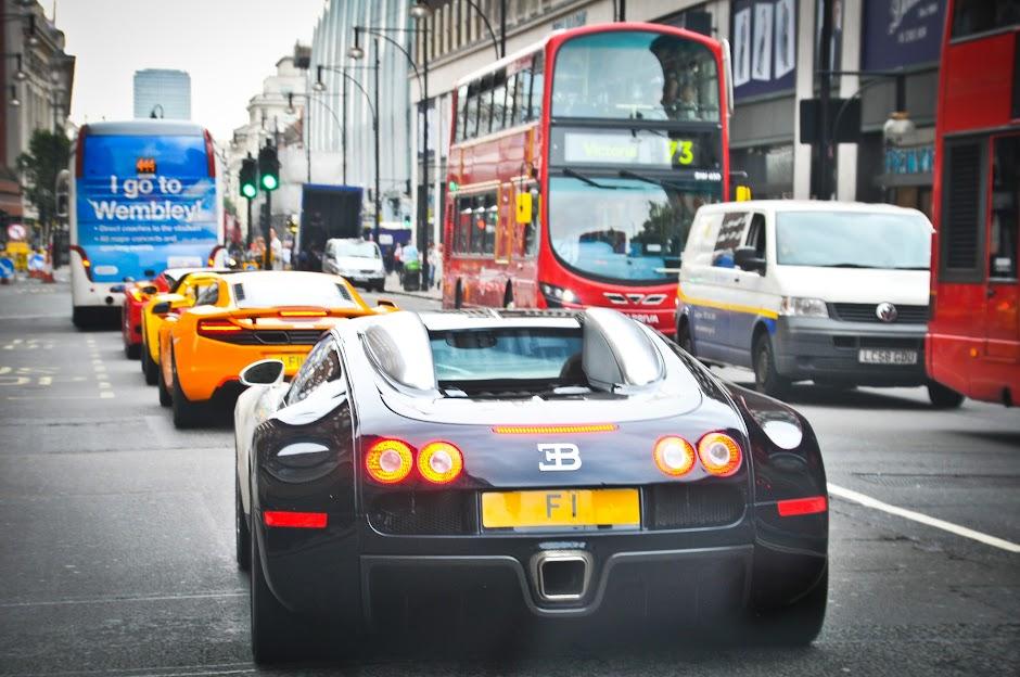 Afzal Kahn Bugatti Veyron F1