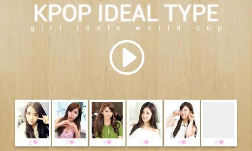 KPOP Ideal Type Girl Idols