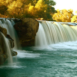 manavgat waterfall by Ayhan Özkur - Nature Up Close Water