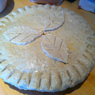 Veggie Birthday Pie