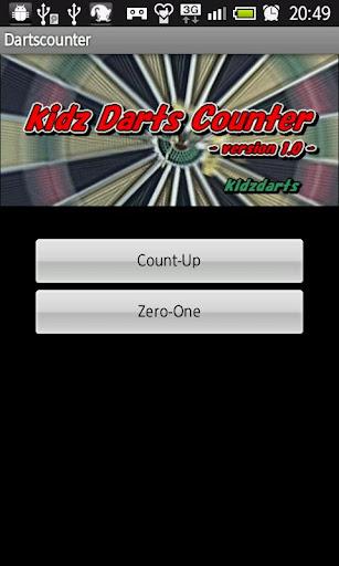 kidz darts counter