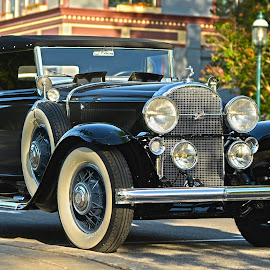 Buick by Brandi Hirsch - Transportation Automobiles ( car, hdr, buick, antique, black )