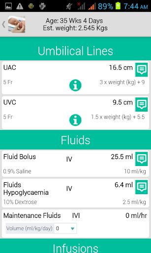 Neonatology - screenshot