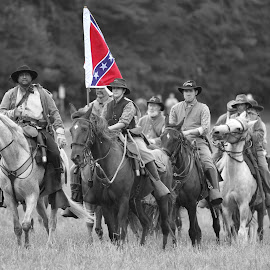 Civil War Reenacting by Barbara Noles - News & Events US Events ( reenacting, soldiers, horses, civil war, historical,  )