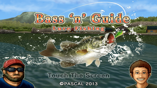 Bass 39 n 39 guide lure fishing apk 1 5 2 free sports apps for Bass fishing apps