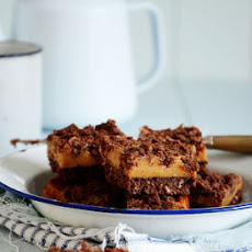 Chocolate, Coconut & Caramel Slice