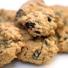 Eggless Oatmeal Raisin Cookies