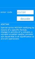 Screenshot of ICAO Codes and Abbreviations