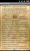 Screenshot of Burç Yorumları