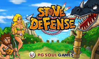 Screenshot of Defender Stone Age