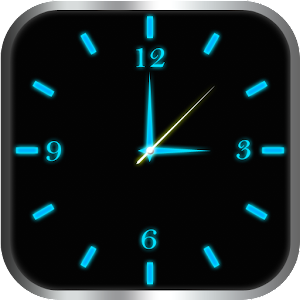 Glowing Clock Locker - Blue For PC (Windows & MAC)