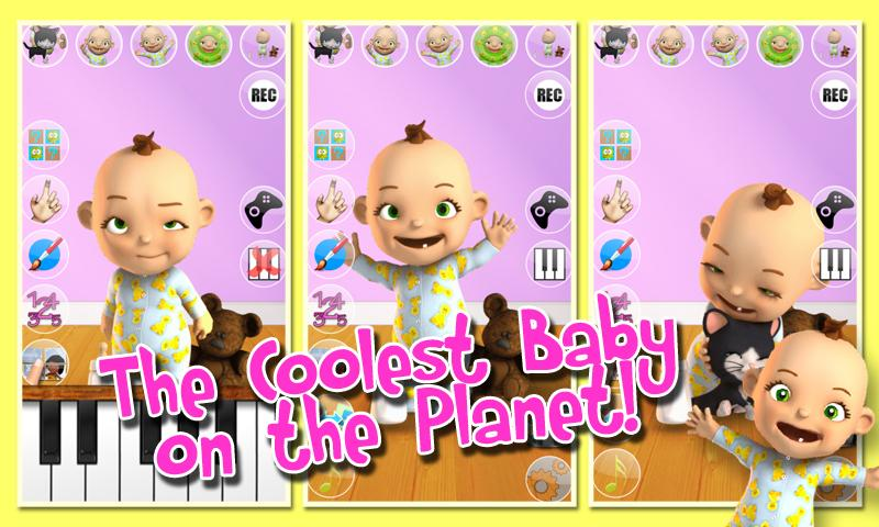Talking Babsy Baby Deluxe Screenshot 1