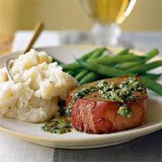 Argentinean Oak-Planked Beef Tenderloin with Chimichurri Sauce