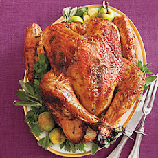 Maple-Glazed Turkey with Onion-Cider Gravy