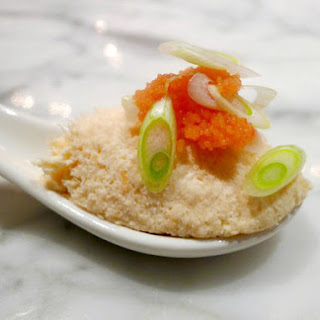 Bluestem's Smoked Salmon Panna Cotta