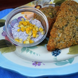 Blue Cornmeal Scones