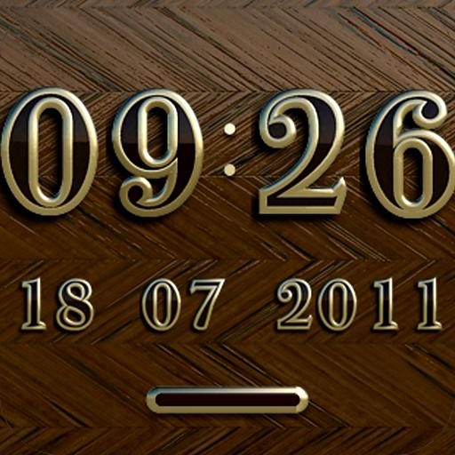 NEW YORK Digital Clock Widget