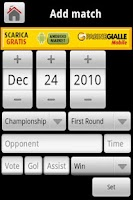 Screenshot of MyFootballCareerLite
